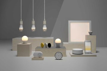 Onderdelen van de IKEA Tradfri smart lighting serie