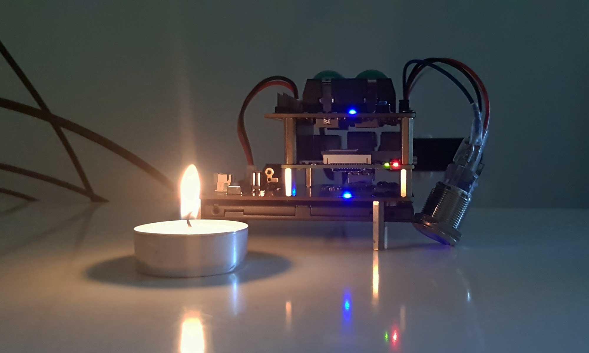 Technologie bij kaarslicht